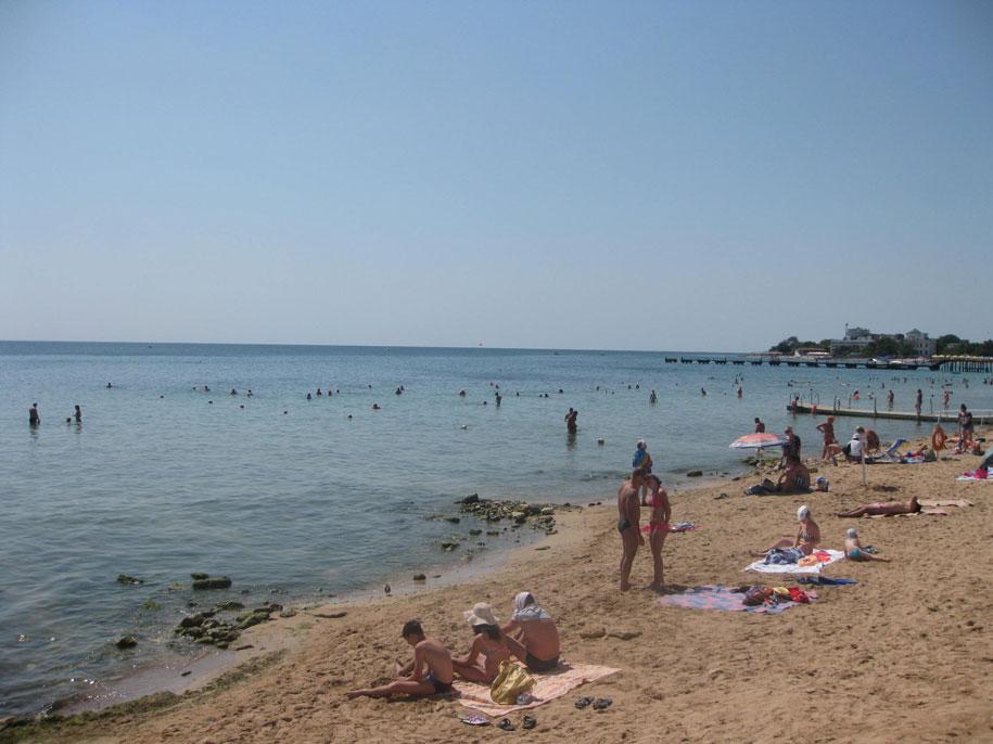 Центральные пляжи Евпатории, Крым
