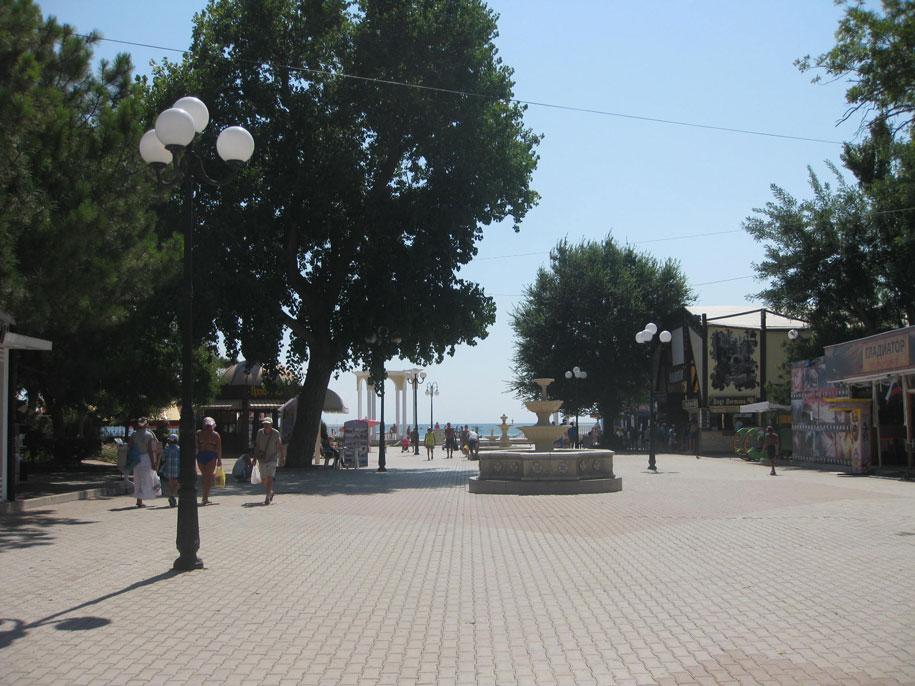 Площадь улицы Фрунзе, Евпатория