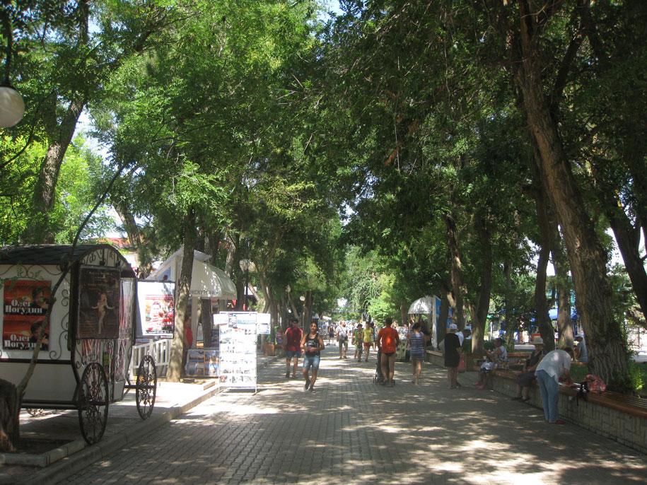 Улица Фрунзе, Евпатория, Крым