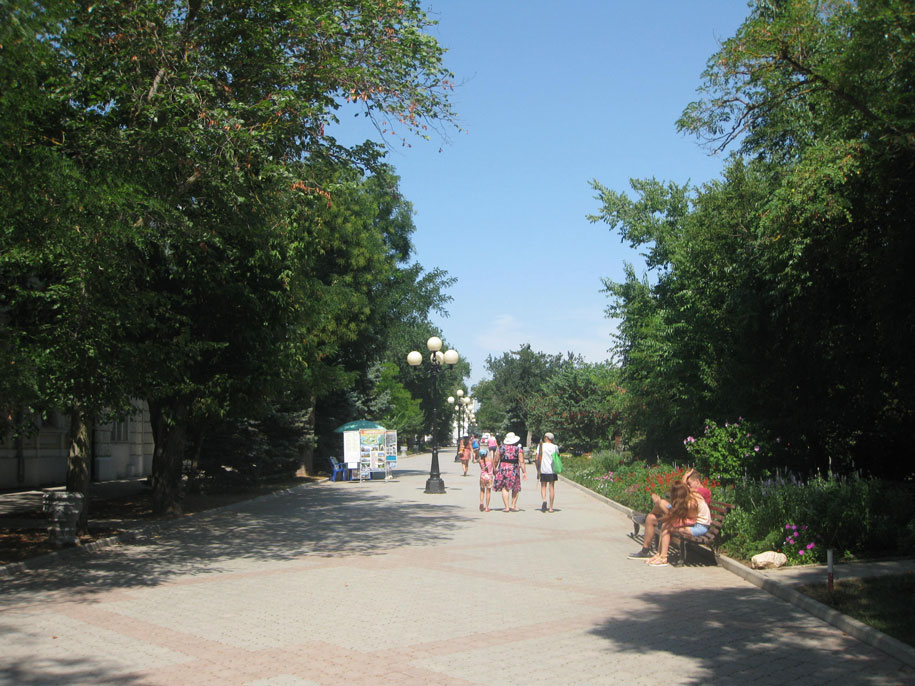 Улица Дувановская, Евпатория