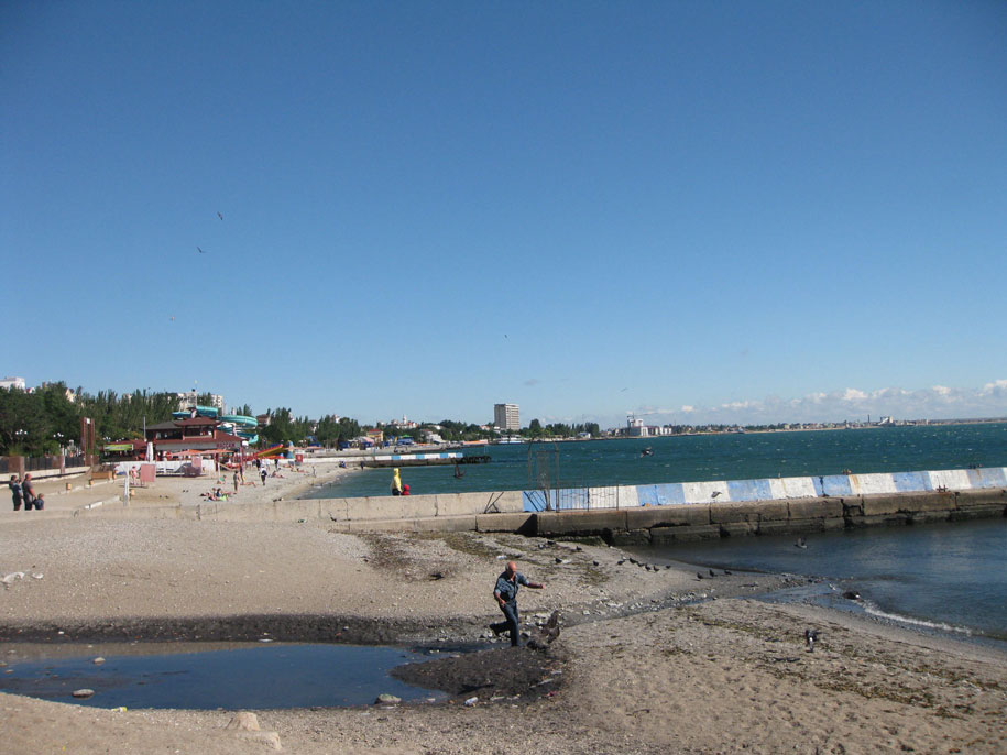 Пляжи, Феодосия, Крым