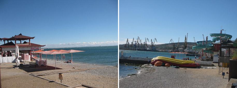 Центральные пляжи Феодосии, Крым