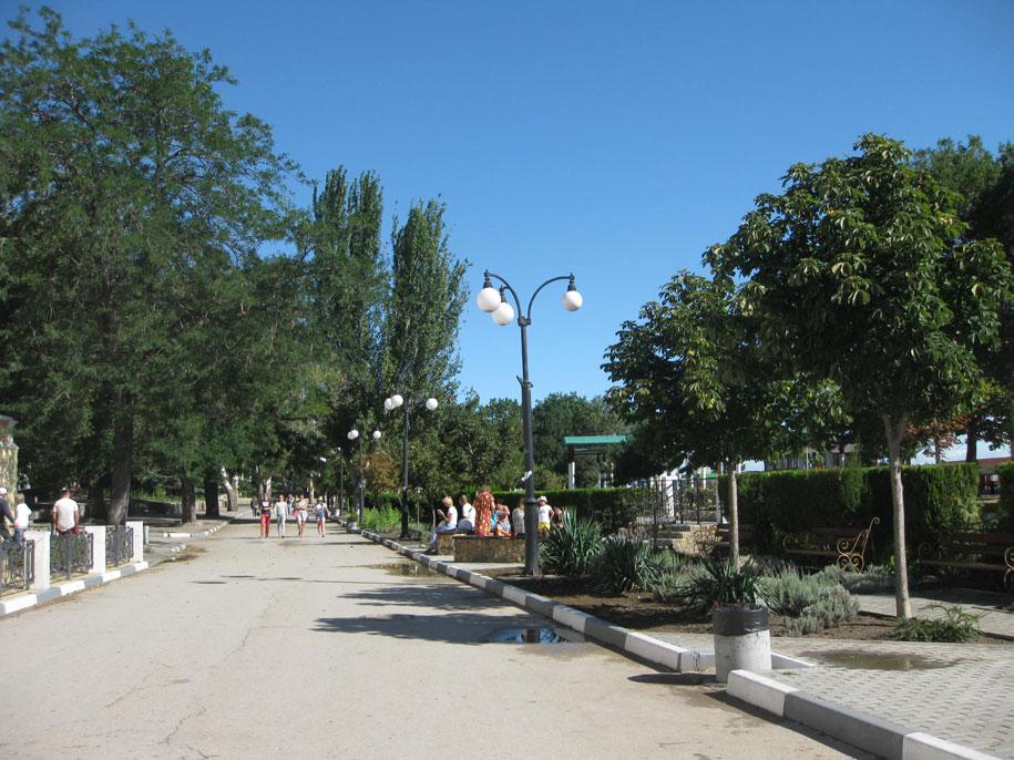 Проспект Айвазовского в Феодосии