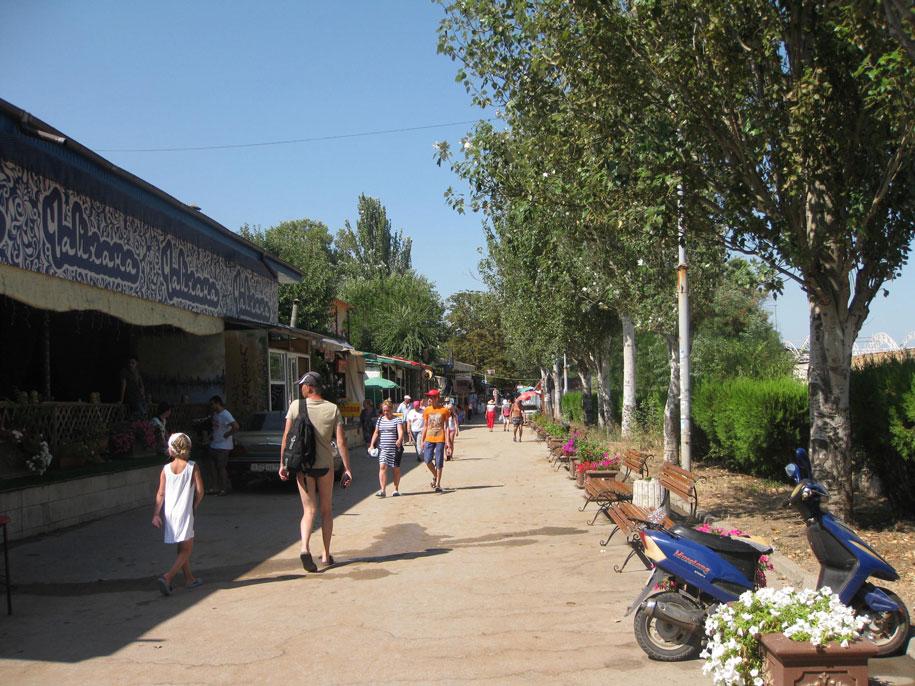 Набережная Феодосии, Крым