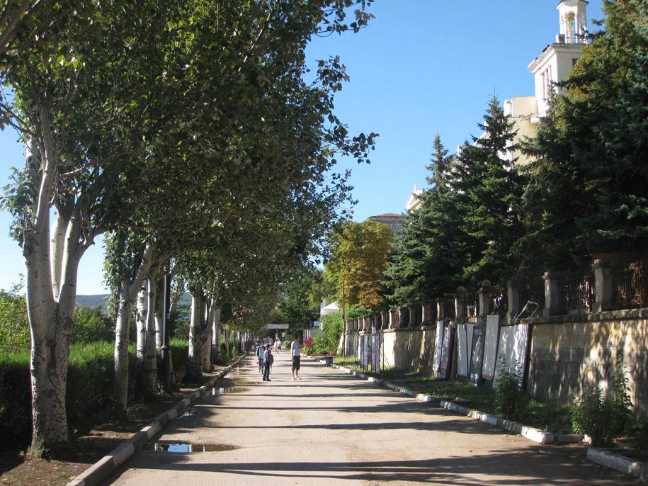 Проспект Айвазовского, Феодосия, Крым