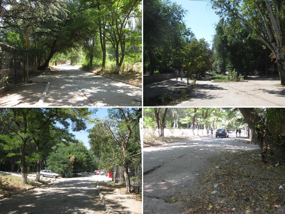 Улицы Феодосии