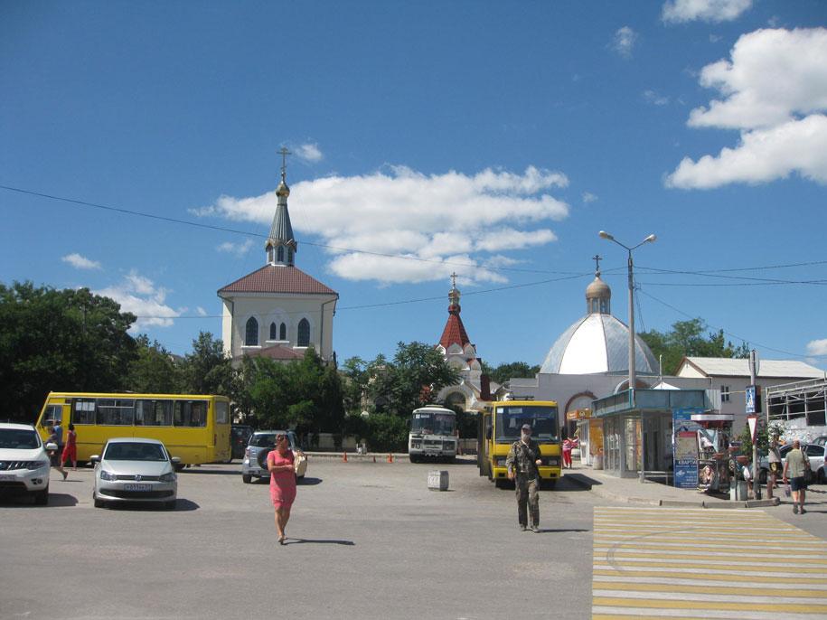 Автостанция в Феодосии