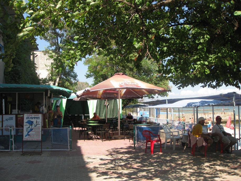Кафе на пляжах Золотые пески, Феодосия
