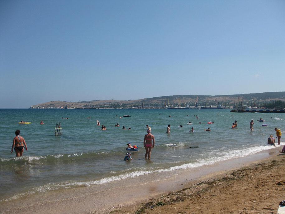 Золотые пляжи, Феодосия, Крым