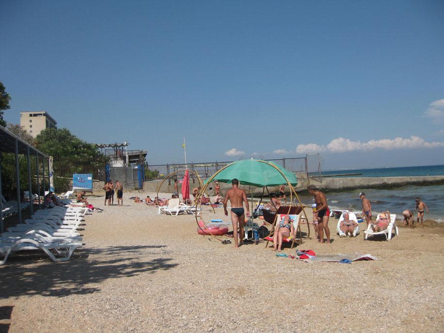 Пляжи Крыма - пляжи Феодосии