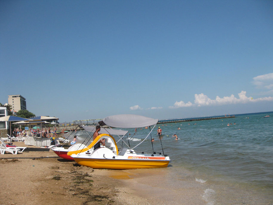 Пляжи Золотые пески, Феодосия