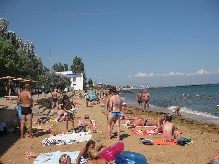 Золотые пляжи в Феодосии