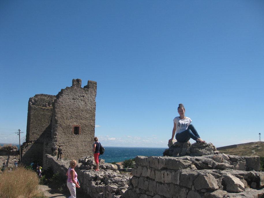 Фото на память, Генуэзская крепость Кафа