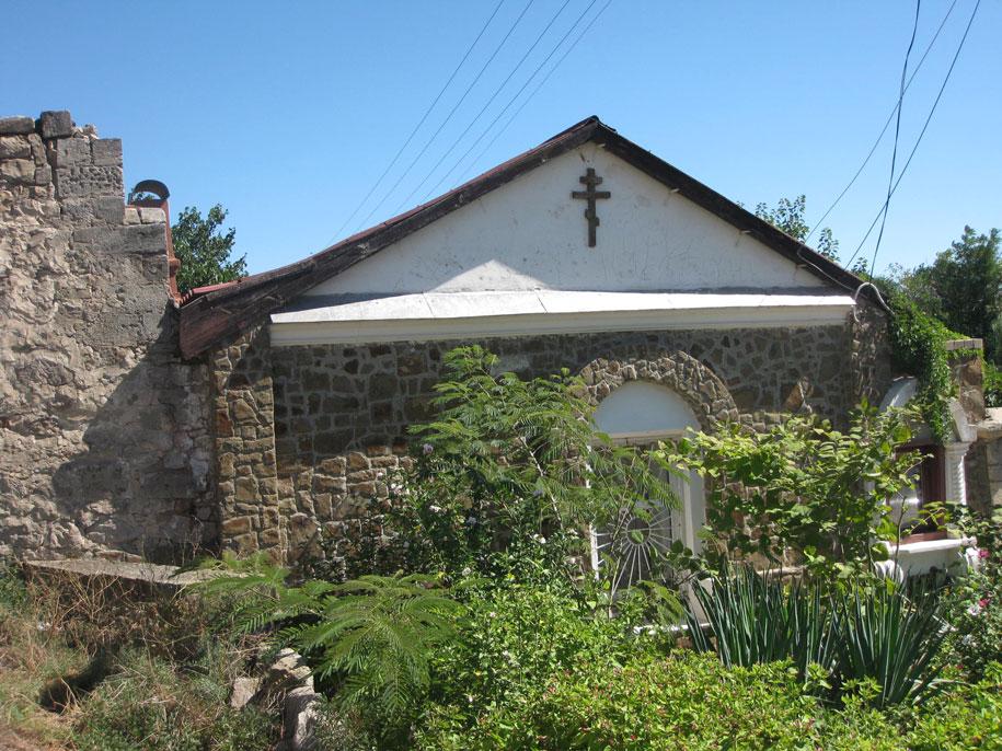 Церковь в Старом городе Феодосии