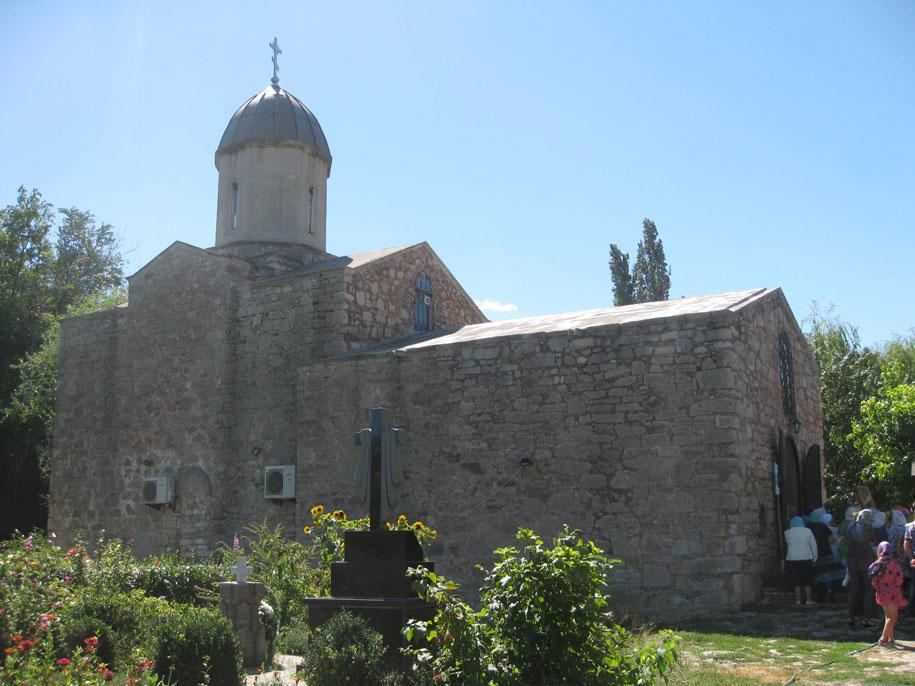 Храм Иверской Иконы Божией Матери, Старый город, Феодосия