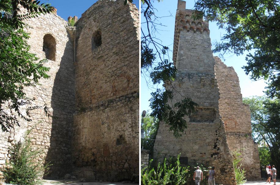 Башня Константина, Феодосия