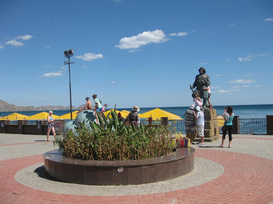 Набережная, Коктебель, Крым