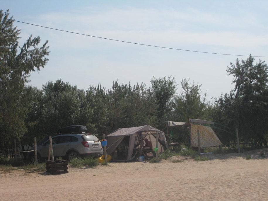 Кемпинг на пляже Оазис, Ачуево
