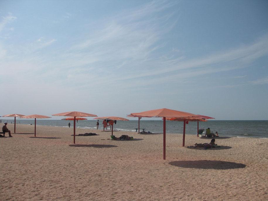 Пляж Оазис, село Ачуево