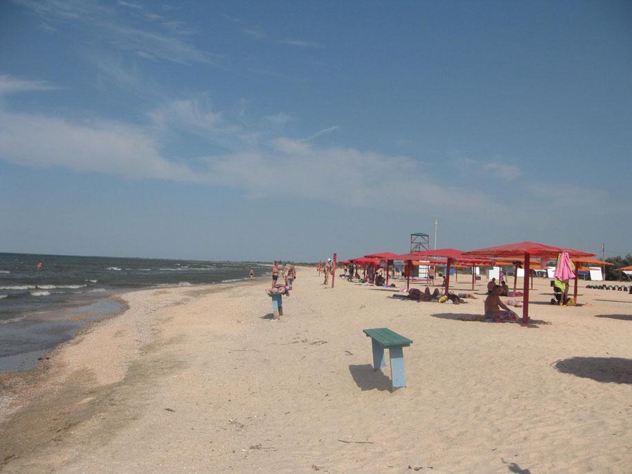 Пляж-кемпинг Оазис, Ачуево