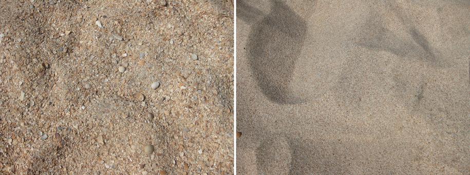 Песчано-ракушечный пляж Оазис, село Ачуево