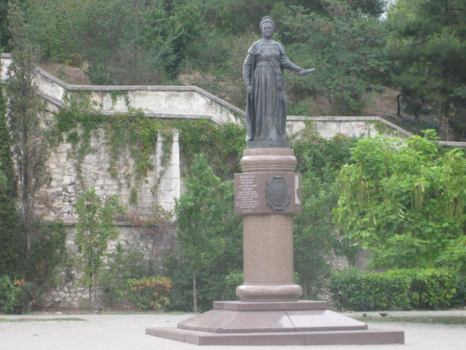 Памятник Екатерине, Севастополь