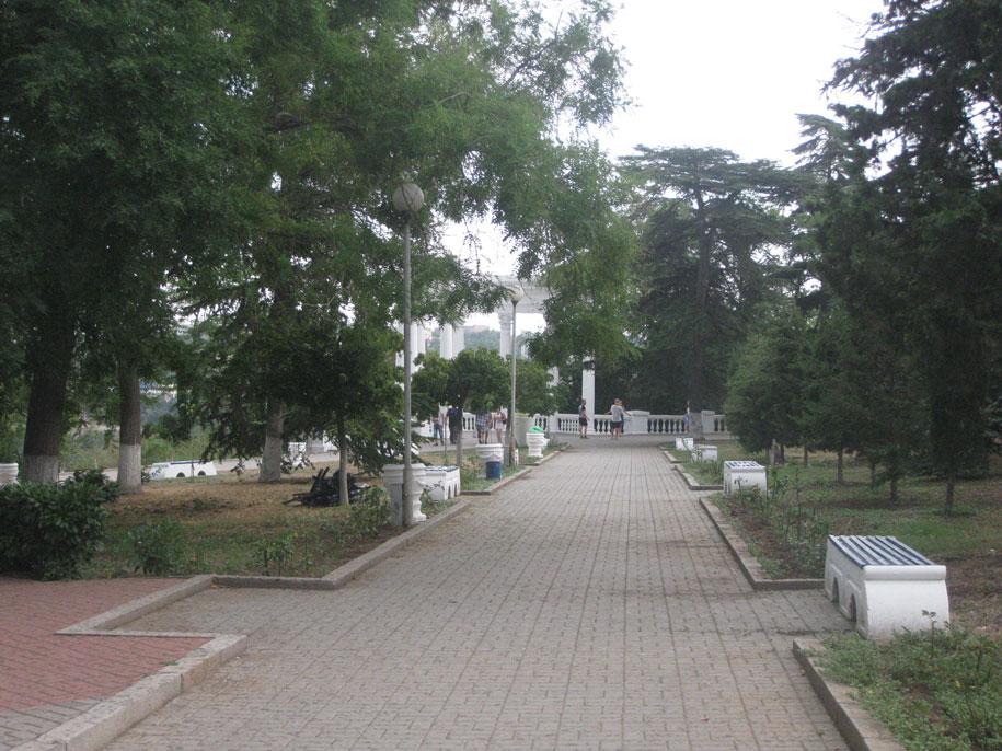 Сквер Воинов интернационалистов, Севастополь