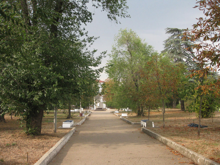 Сквер в Севастополе