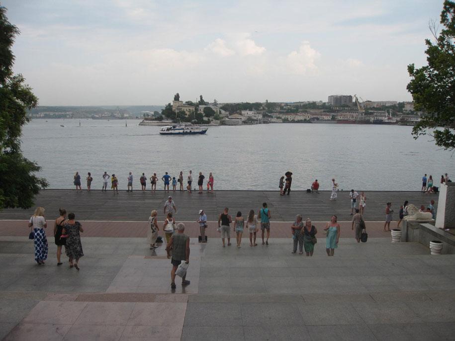 Ступени Графской пристани, Севастополь
