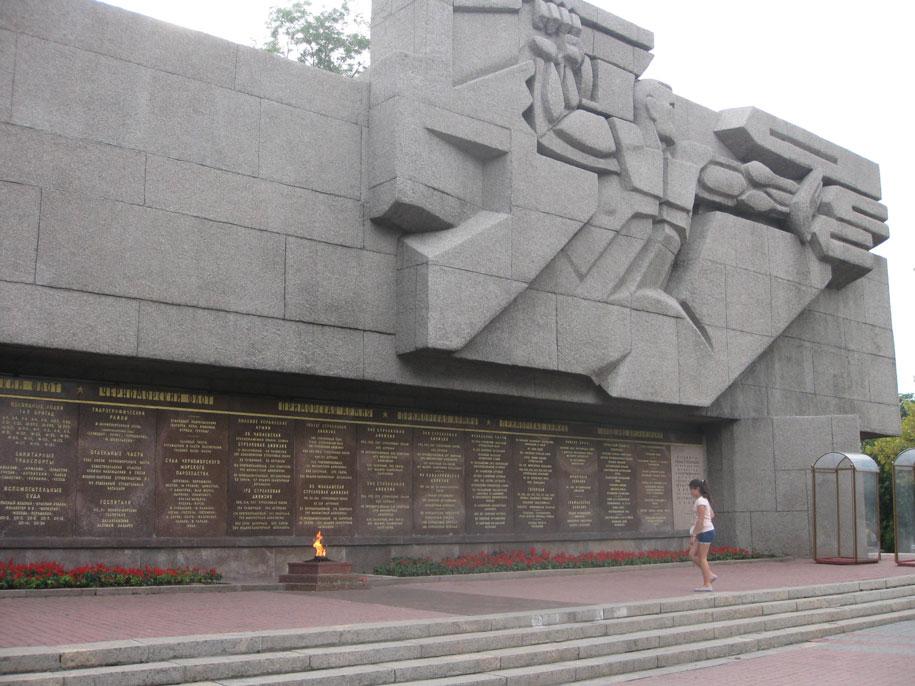 Вечный огонь, Севастополь