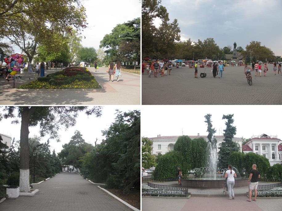 Приморский бульвар, Севастополь
