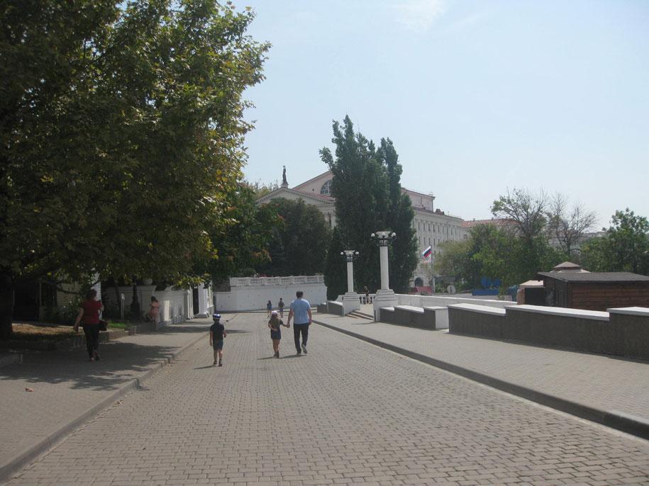 Приморский бульвар в Севастополе, Крым