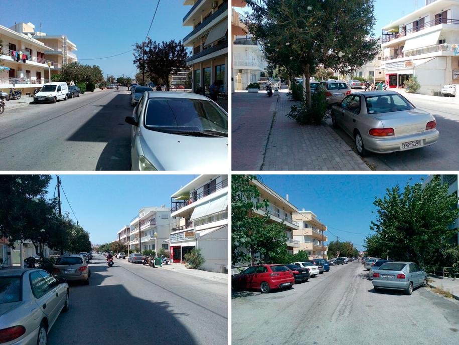 Улицы Родоса, Греция