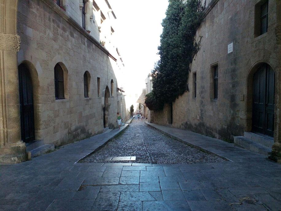 Старый город в Родосе, Греция