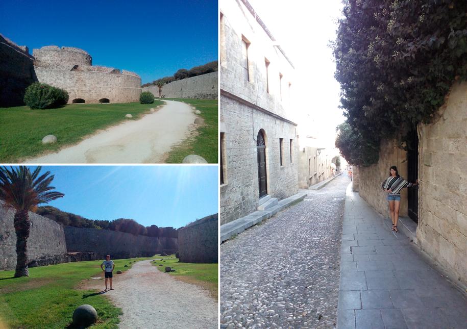 Оборонительные стены Старого Родоса, Греция