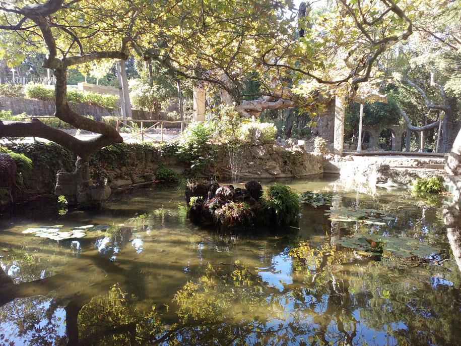 Парка Родини на острове Родос, Греция