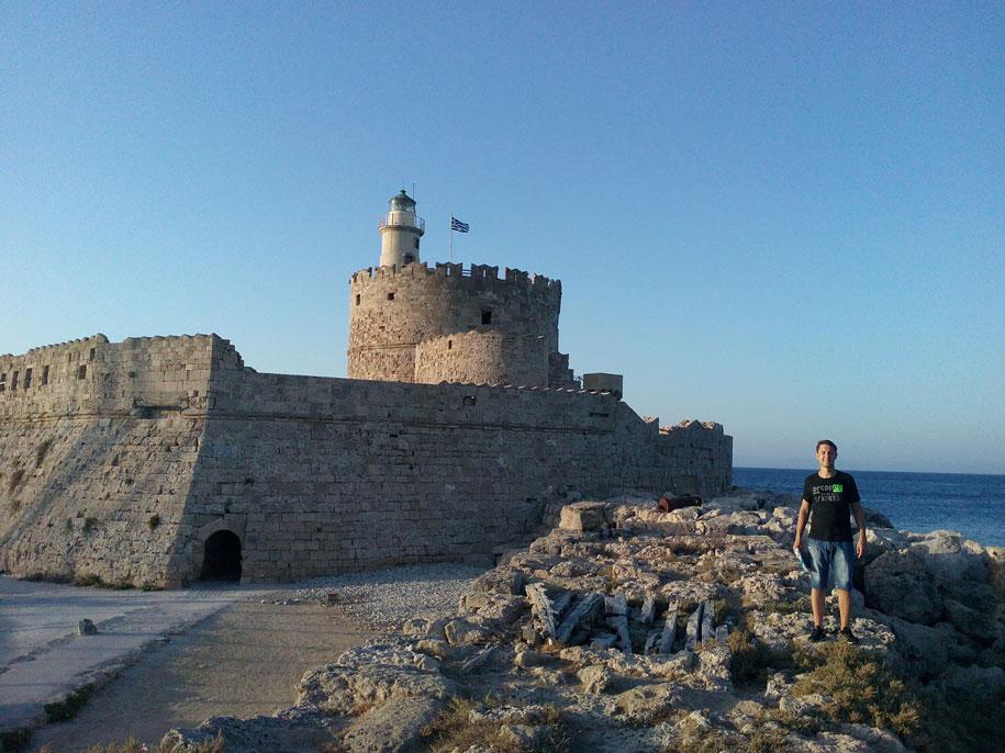 Форт Святого Николая, Родос, Греция