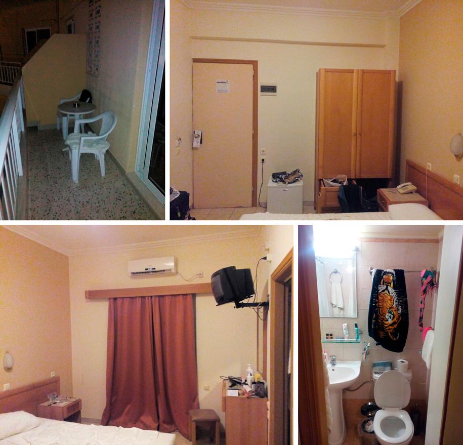 Отель Конго, Родос - номера