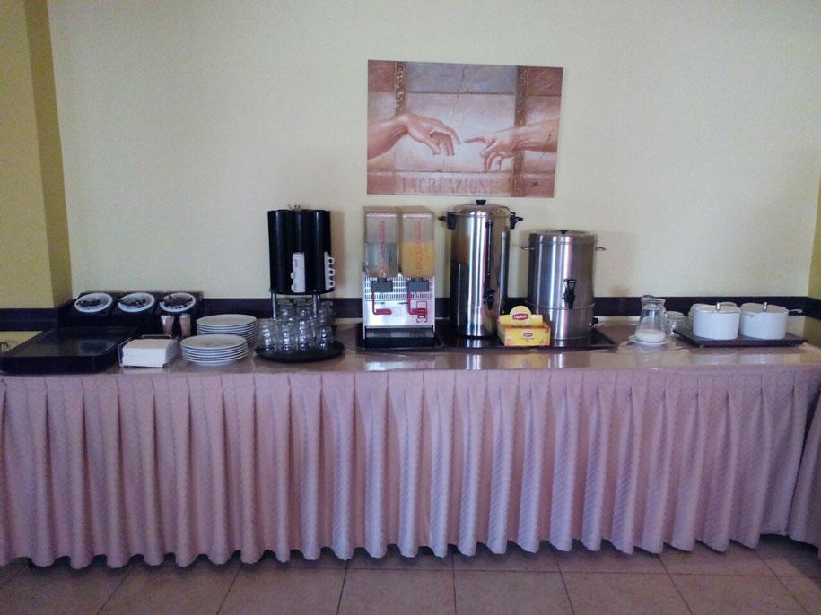 Отель Конго, Родос - завтрак шведский стол