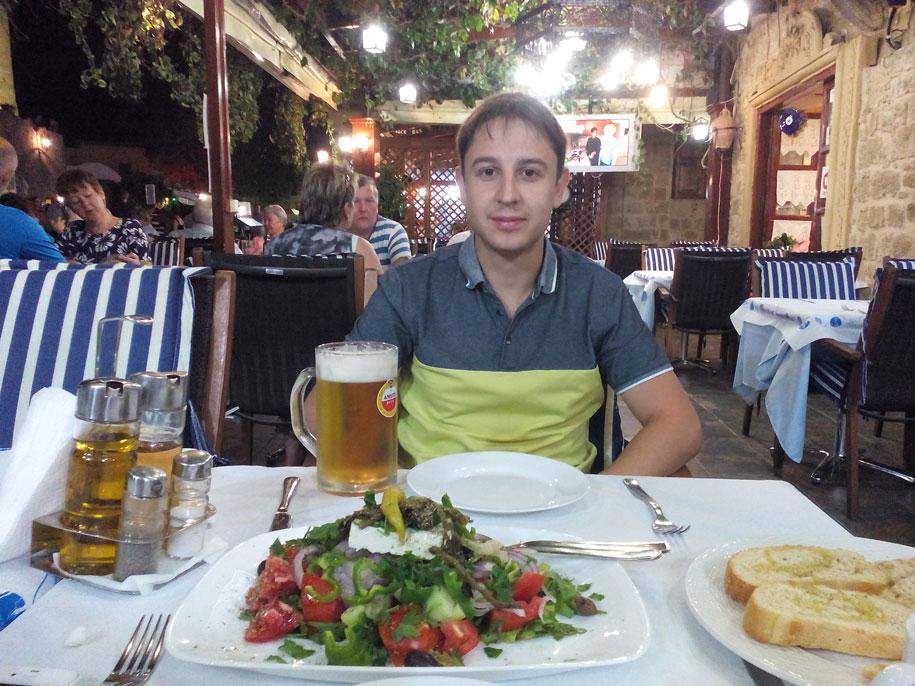 Рестораны в Старом городе Родос, Греция