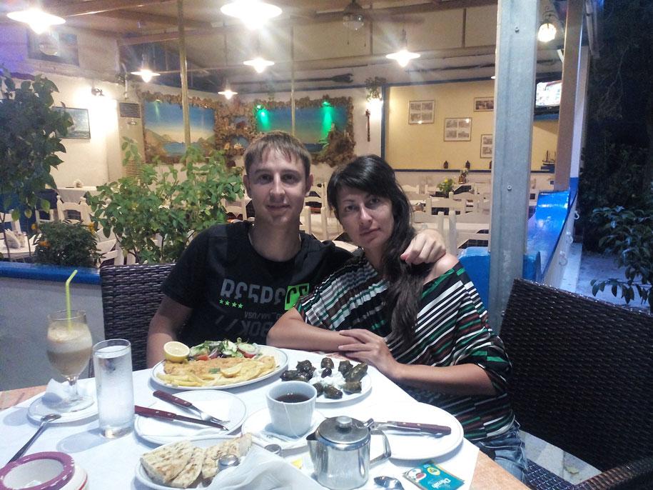 Еда на острове Родос, Греция