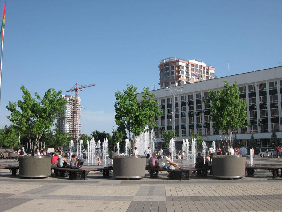 Музыкальный фонтан, Краснодар