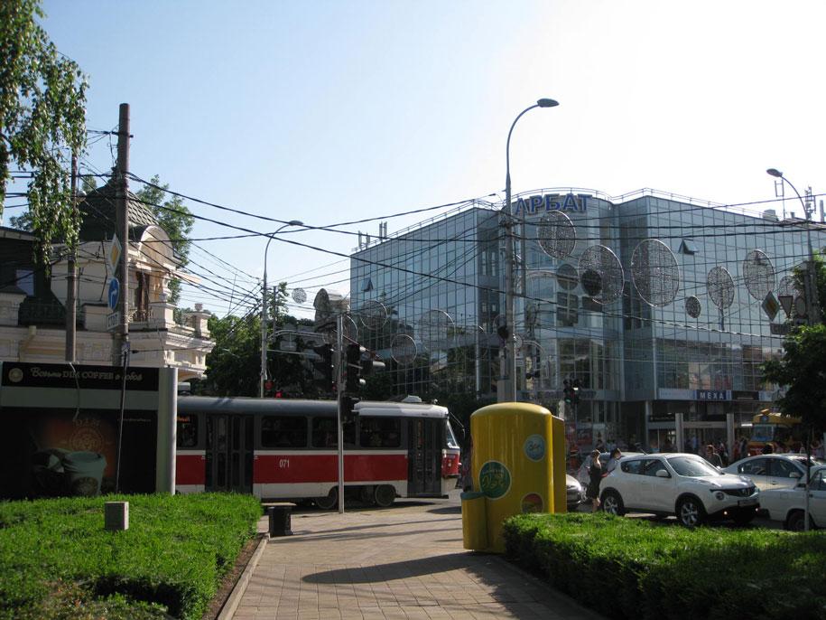 Улица Горького, пересечение с Красной, Краснодар