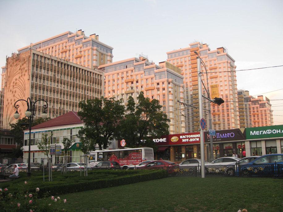 Жилой комплекс, возле Центра города в Краснодаре