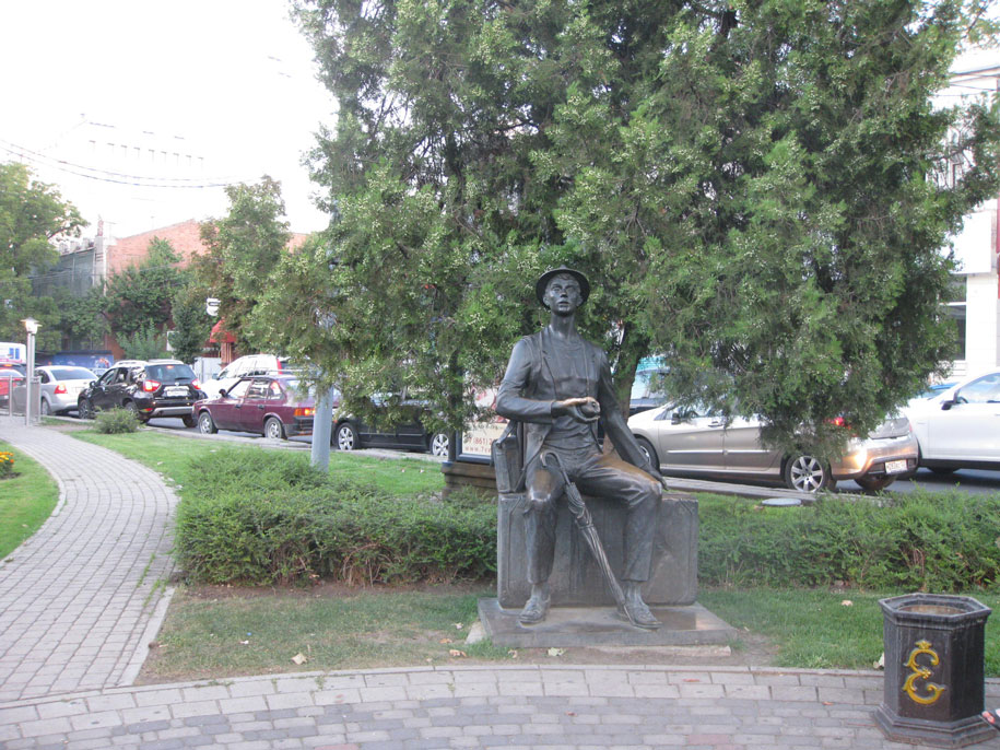 Скульптура Гость, Краснодар