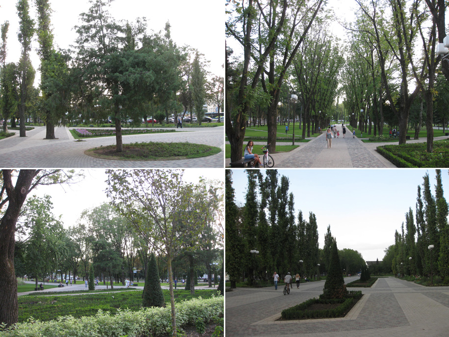 Ландшафтно-архитектурный комплекс возле Авроры, Краснодар