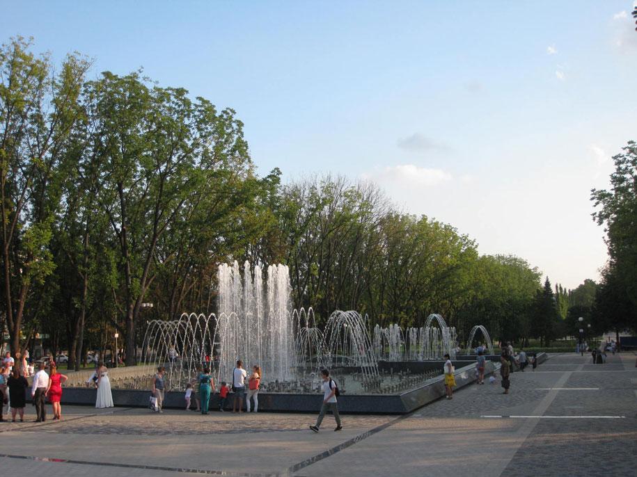 Большой поющий фонтан Аврора, Краснодар