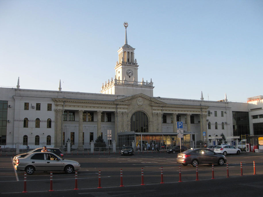 ЖД вокзал, Краснодар