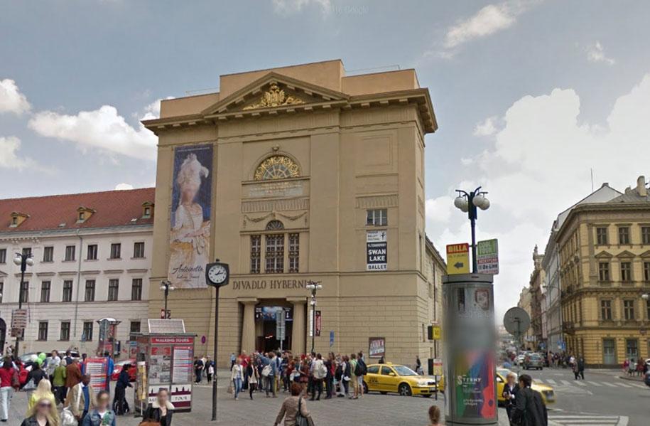 Театр Губерния, Прага