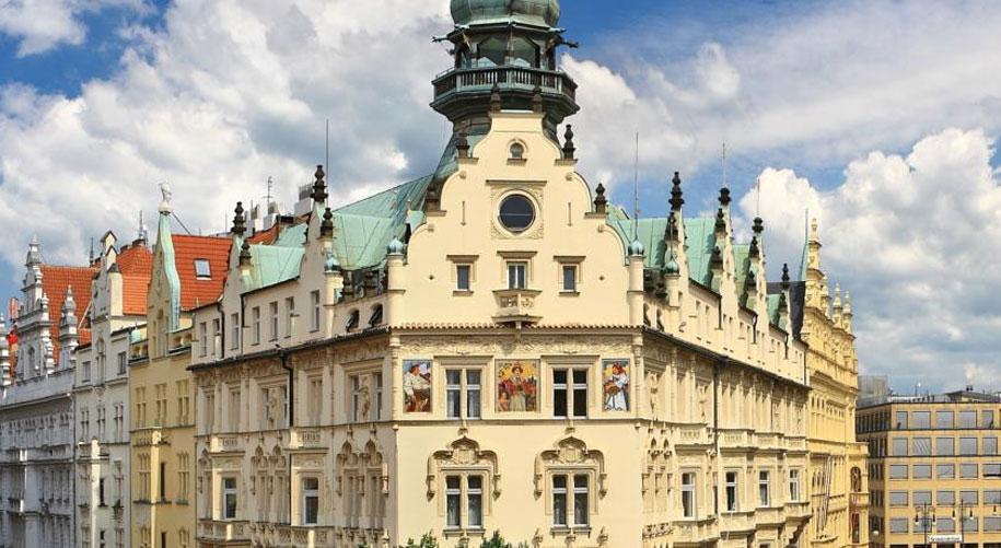 Отель Париж, площадь Республики, Прага